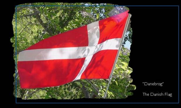 Dannebrog, the Danish National Flag.